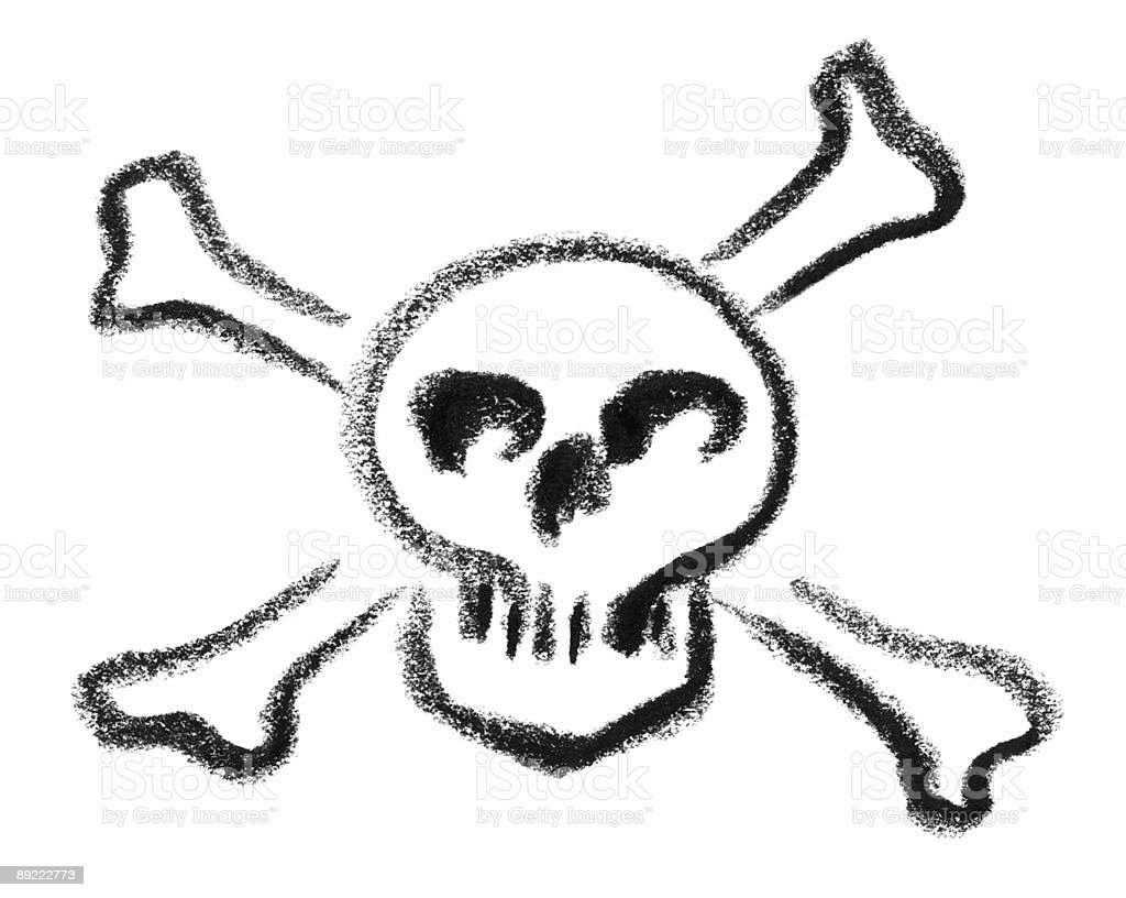 skull and crossed bones sketch royalty-free skull and crossed bones sketch stock vector art & more images of art