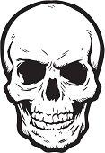 a human skull. bwahaa!!!