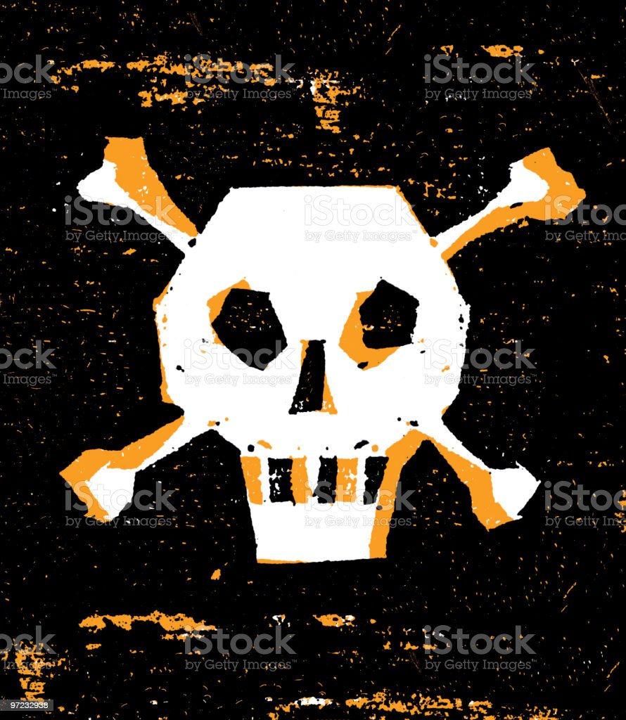 Skull royalty-free skull stock vector art & more images of 1990-1999