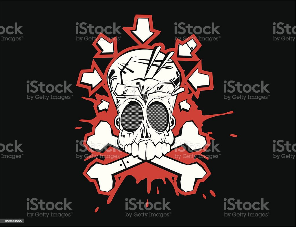 skully royalty-free skully stock vector art & more images of art