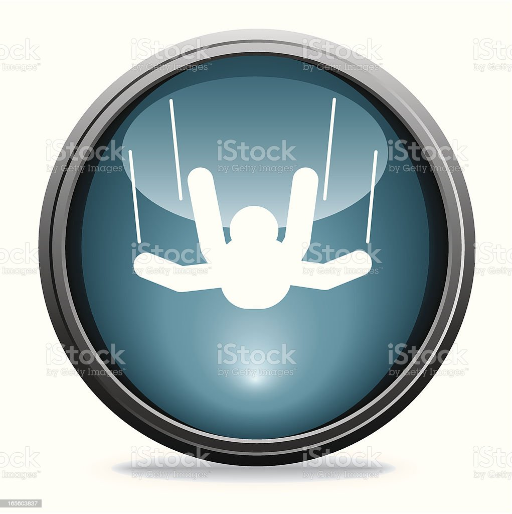 Sky Diving | Glass Collection royalty-free sky diving glass collection stock vector art & more images of blue