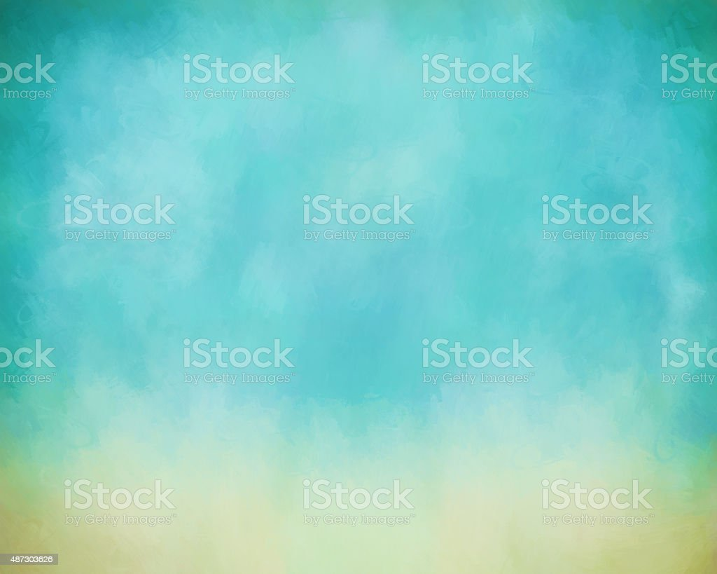 Sky Painting Background vector art illustration