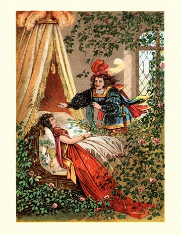 Sleeping Beauty fairy tale