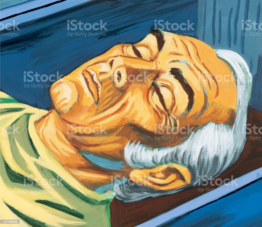 Sleeping Man royalty-free sleeping man stock vector art & more images of adult