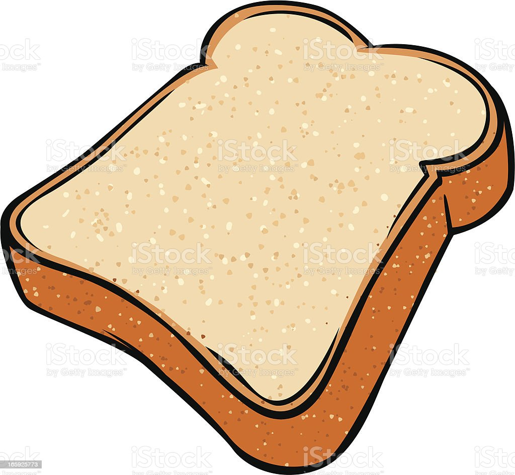 royalty free slice of bread clip art vector images illustrations rh istockphoto com 2 slices of bread clipart 2 slices of bread clipart