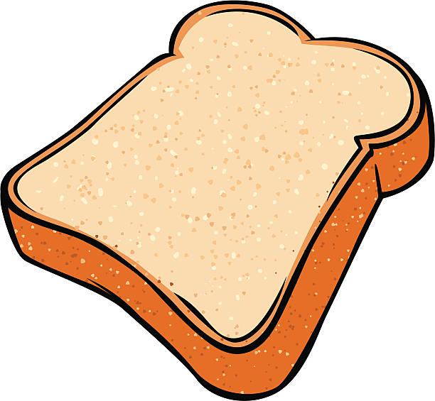 Royalty Free Bread Slice Clip Art, Vector Images ...