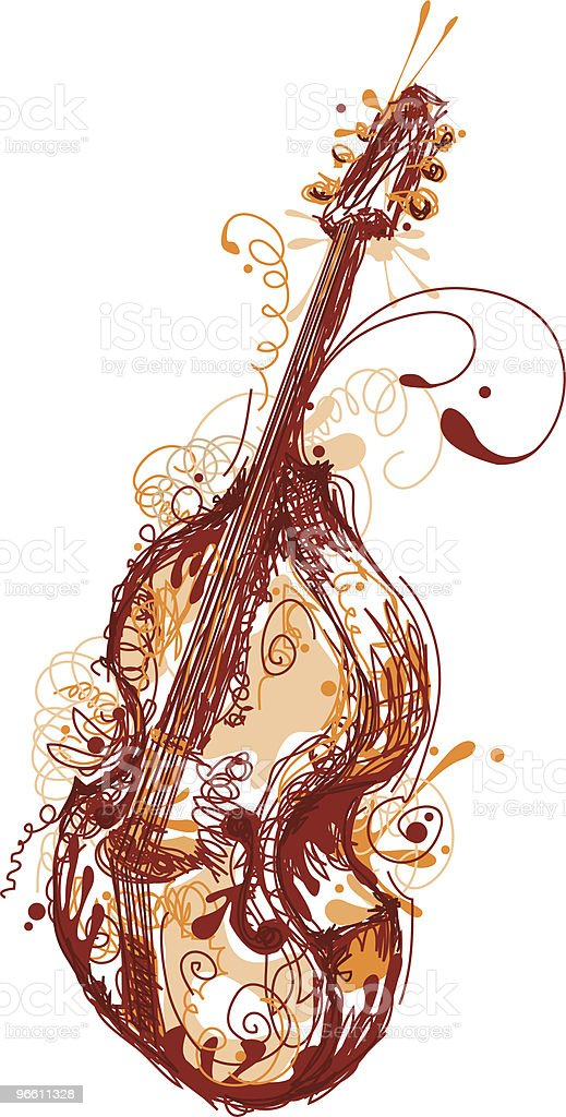 Sloppy Bass - Royalty-free Art And Craft stock vector