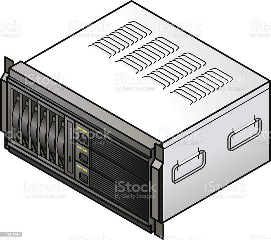 Small blade server. royalty-free small blade server stock vector art & more images of communication