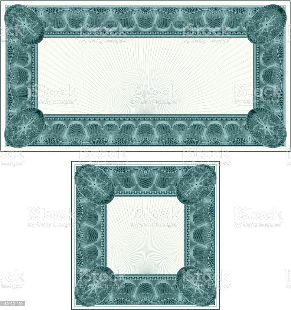 Small Certificate or Coupon Set royalty-free small certificate or coupon set stock vector art & more images of backgrounds