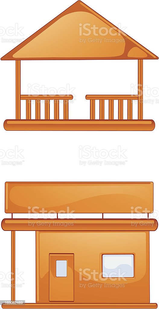 Small Town Buildings royalty-free small town buildings stock vector art & more images of beach house