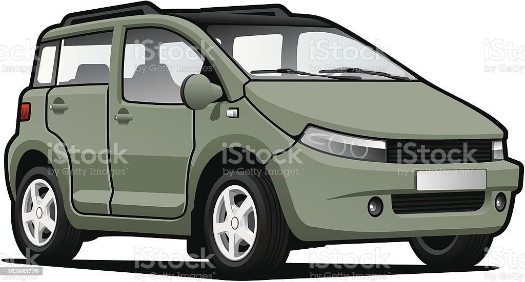 small utilitie car royalty-free small utilitie car stock vector art & more images of car