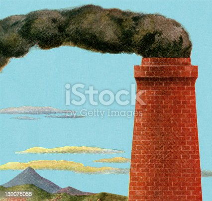 Smoke Coming Out of Chimney