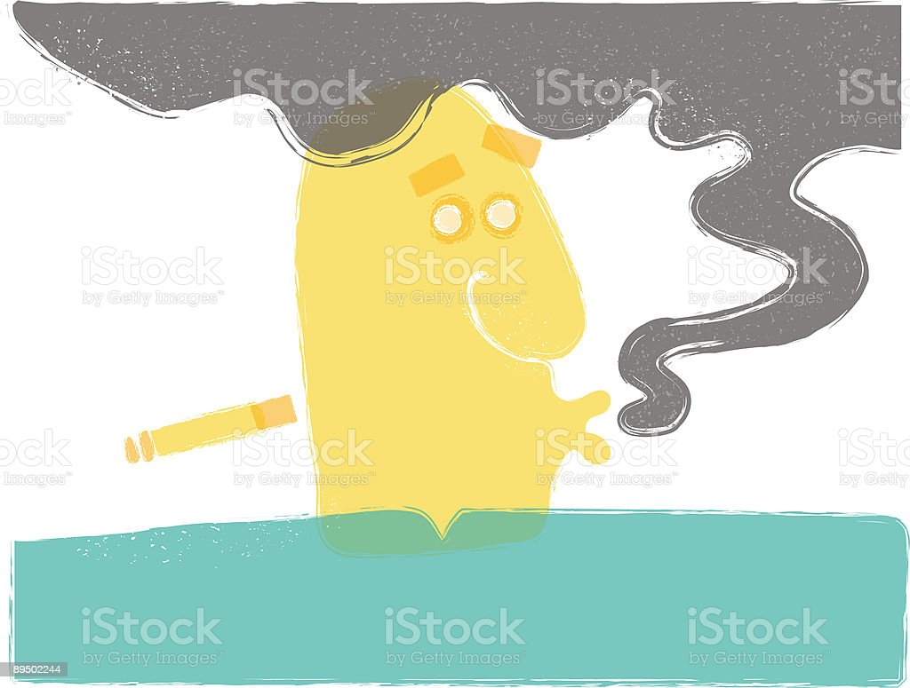 Smoker royaltyfri smoker-vektorgrafik och fler bilder på abstrakt