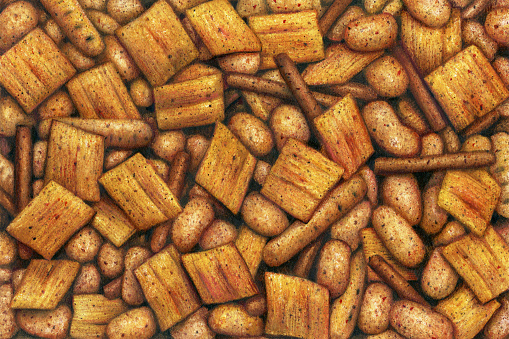 Snack Mix - Garlic