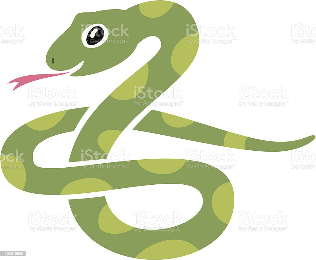 Snake icon vector art illustration