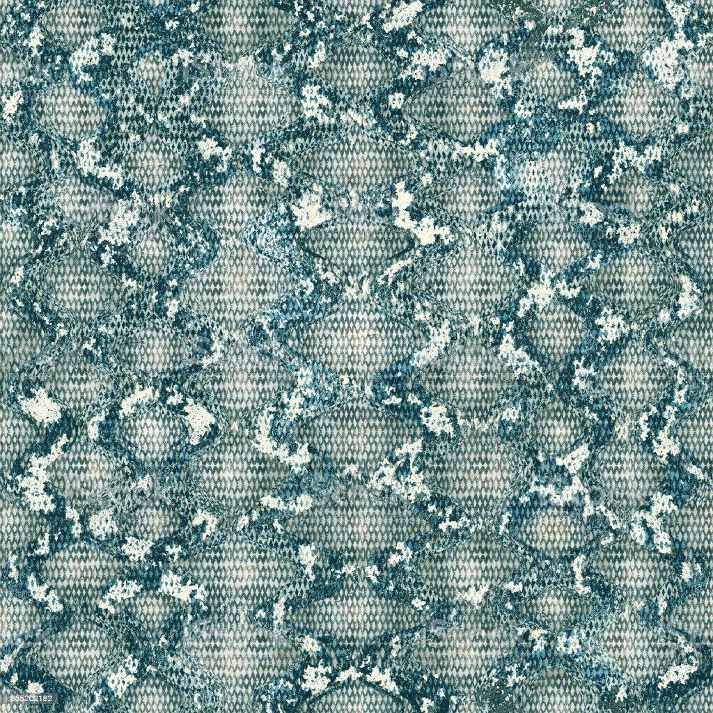 Snakeskin animal texture vector art illustration