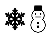 Snow Crystals and Snowmen
