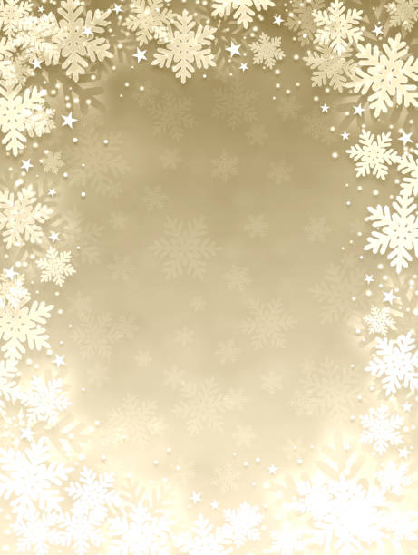 ilustrações de stock, clip art, desenhos animados e ícones de snowflake background - vertical