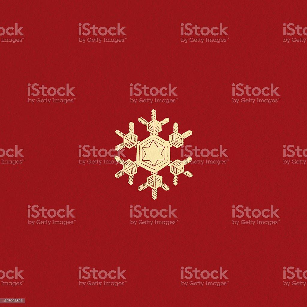Fiocco Di Neve Su Sfondo Rosso Trama Immagini Vettoriali Stock E