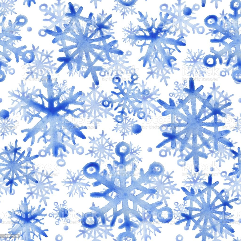 Snowflakes. Seamless pattern. royalty-free snowflakes seamless pattern stock vector art & more images of abstract