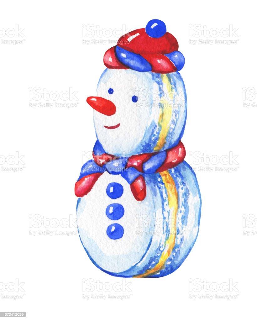 Kardan Adam Tatlim Noel Dekorasyon Tebrik Karti Davet Yeni Yil