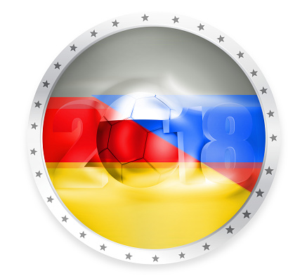 2018 soccer badge russia germany