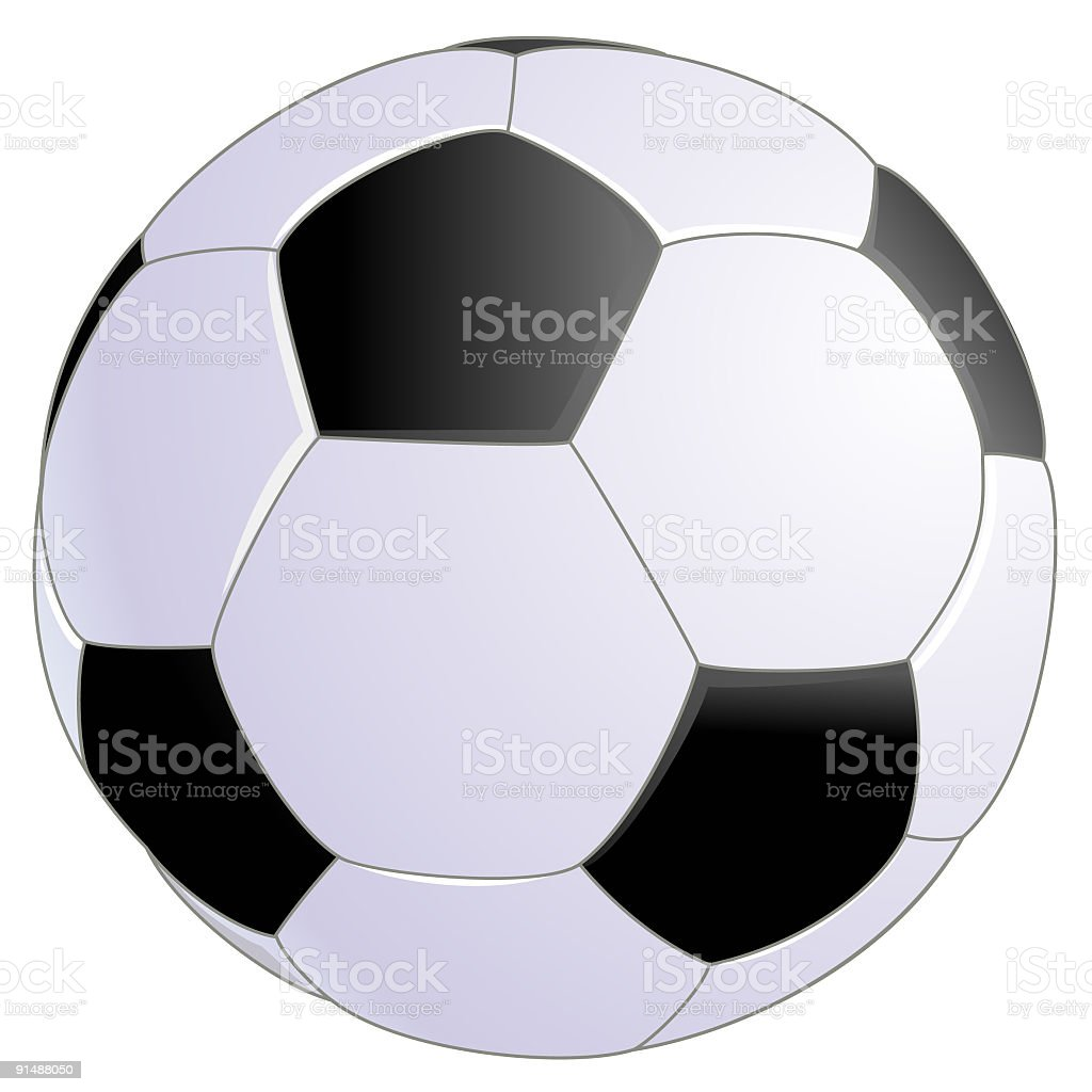 Soccer Ball royalty-free stock vector art