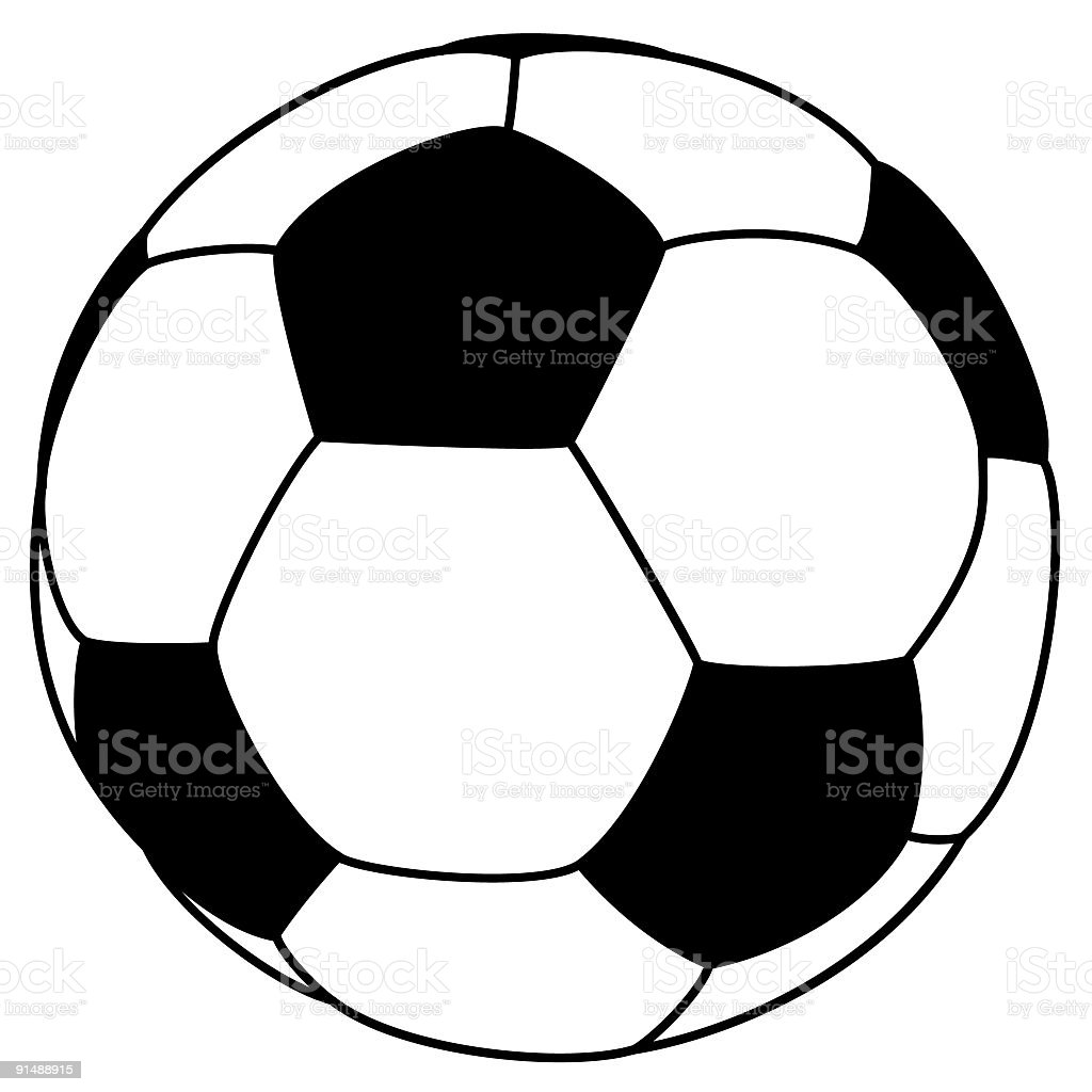 Soccer ball royalty-free soccer ball stock vector art & more images of ball
