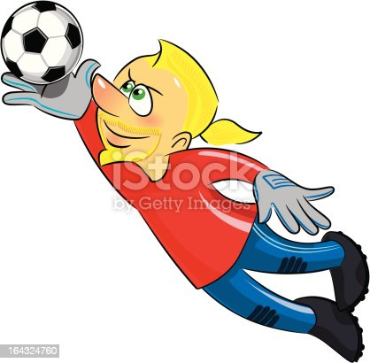 Soccer player -Goalie