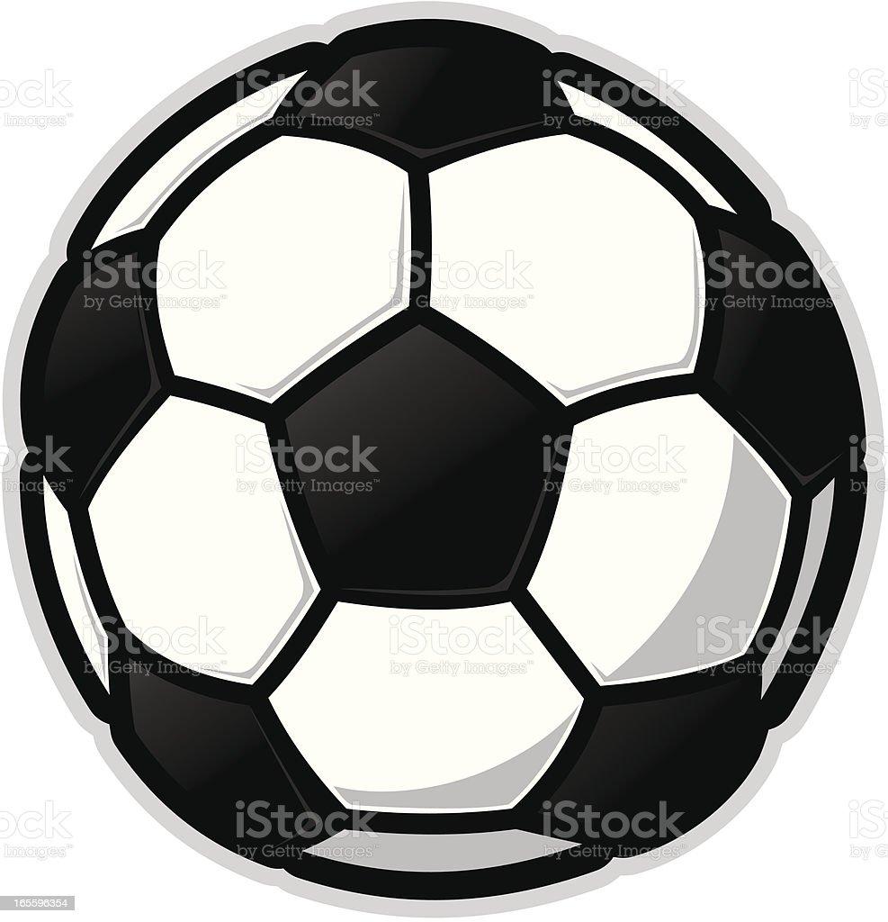 Futebol/ícone de futebol ilustração de futebolícone de futebol e mais banco de imagens de bola de futebol royalty-free