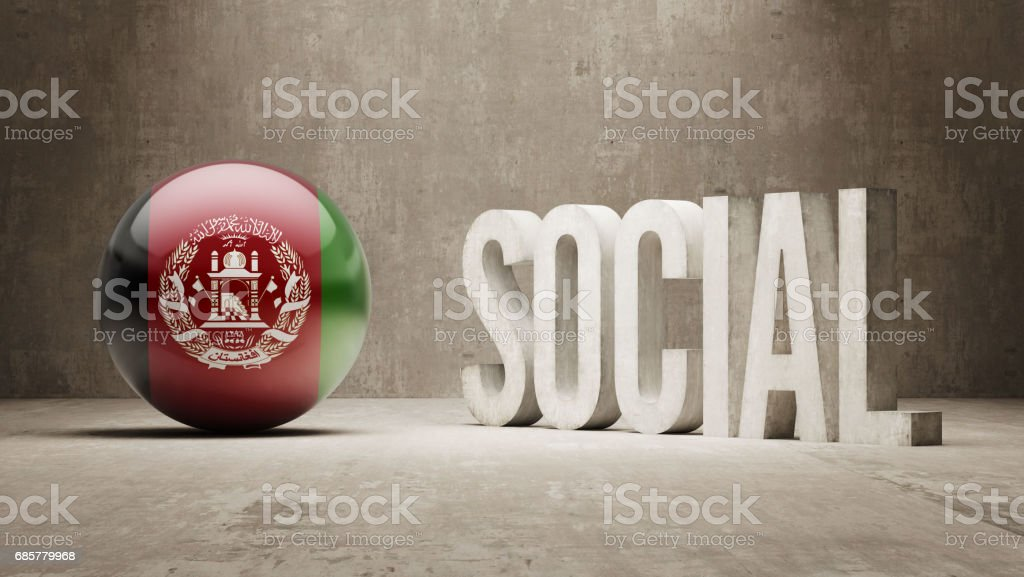 Social Concept royalty-free social concept stock vector art & more images of afghani flag