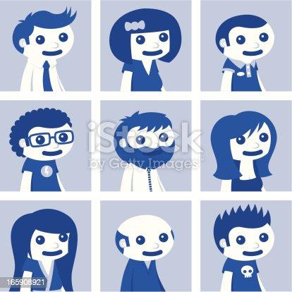 Social Network Avatars - Set 1