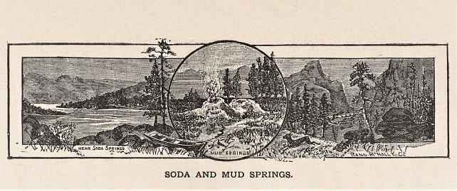 Soda & Mud Springs, Badlands, South Dakota