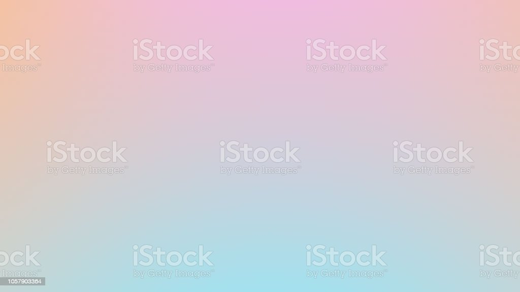 Soft cloudy is gradient pastel,Abstract sky background in sweet color. vector art illustration