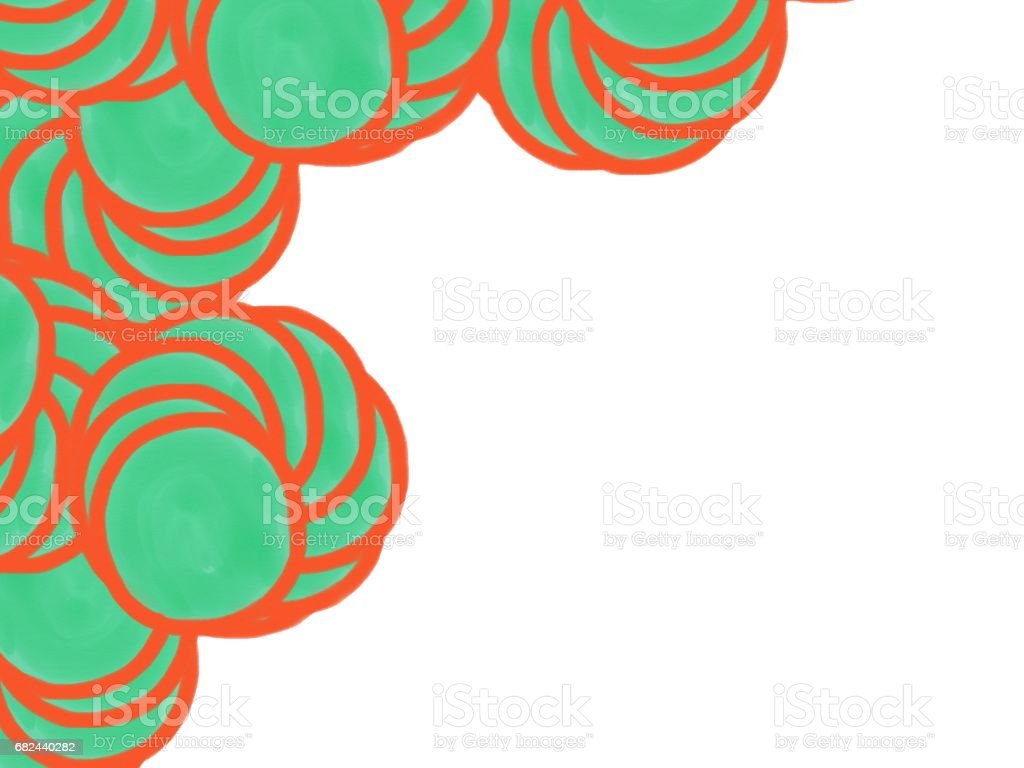 soft-color vintage pastel abstract circle watercolor background with colored (shades of orange and green color), illustration, copy space royalty-free softcolor vintage pastel abstract circle watercolor background with colored illustration copy space stock vector art & more images of abstract