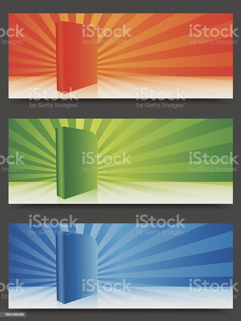 software promotion banners royalty-free stock vector art