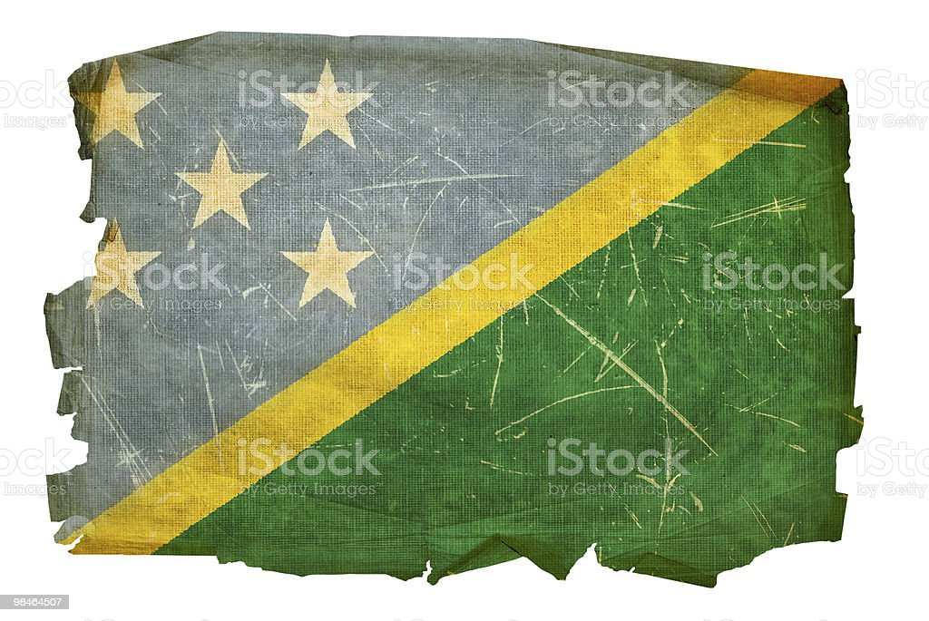 Solomon Islands Flag icon, isolated on white background. royalty-free solomon islands flag icon isolated on white background stock vector art & more images of aging process