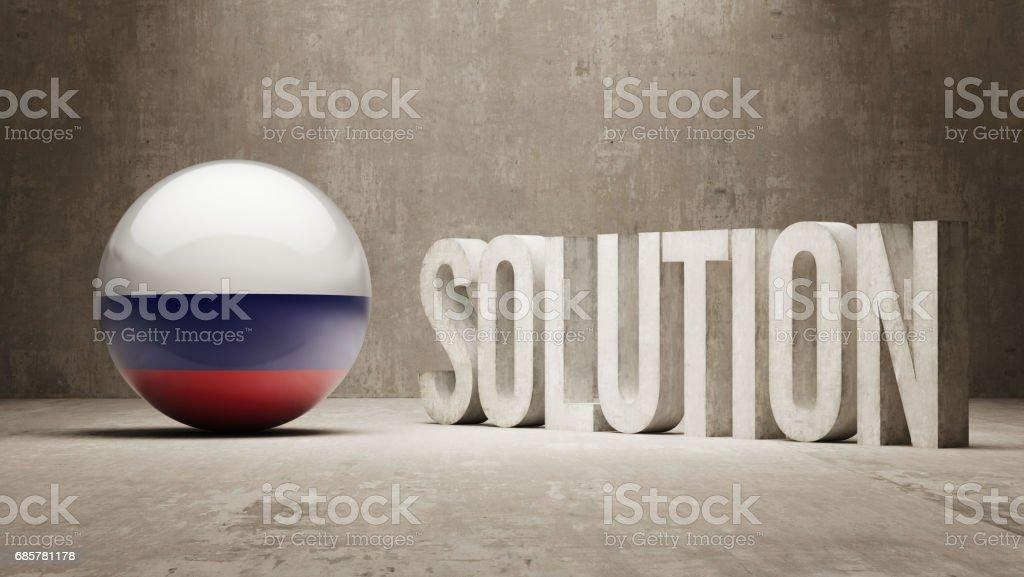 Solution Concept solution concept – cliparts vectoriels et plus d'images de affaires libre de droits