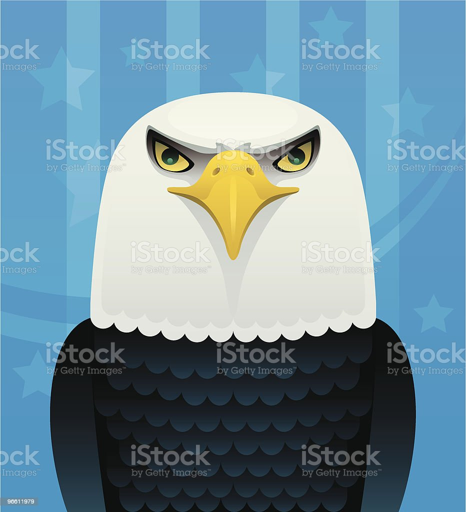 soon eagle - Royaltyfri ClipArt vektorgrafik