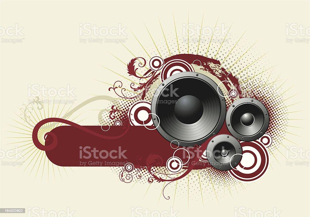 sound royalty-free stock vector art