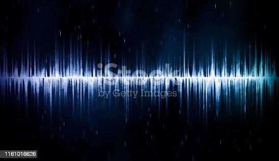 istock Sound Wave Background 1161016626