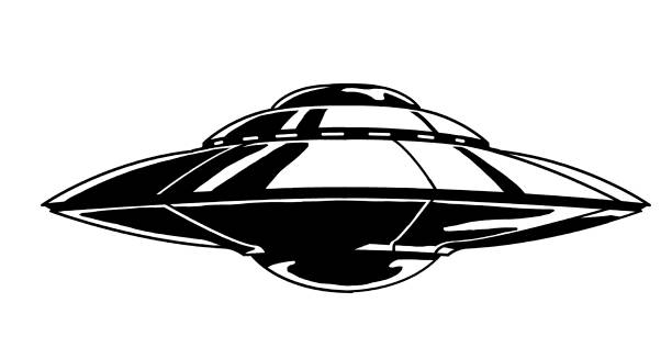 Royalty Free Flying Saucer Clip Art, Vector Images