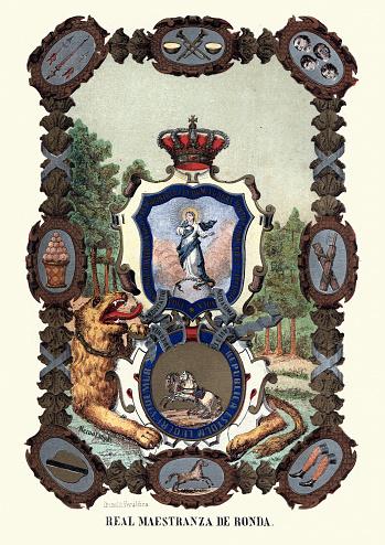 Spanish heraldry pictrue, Real Maestranza de Ronda