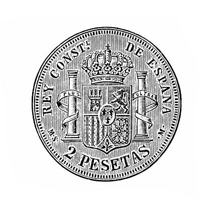 Spanish silver coin ,18th century