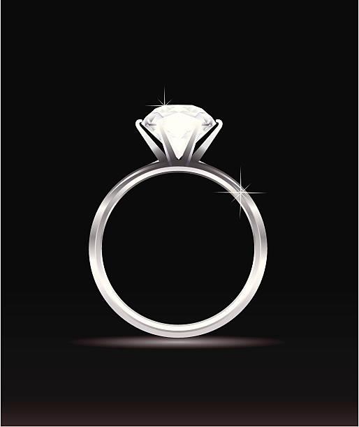 royalty free engagement ring clip art vector images. Black Bedroom Furniture Sets. Home Design Ideas