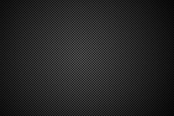stockillustraties, clipart, cartoons en iconen met speaker grid. - texture