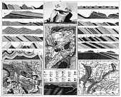 istock Special Geology Engraving 476324830