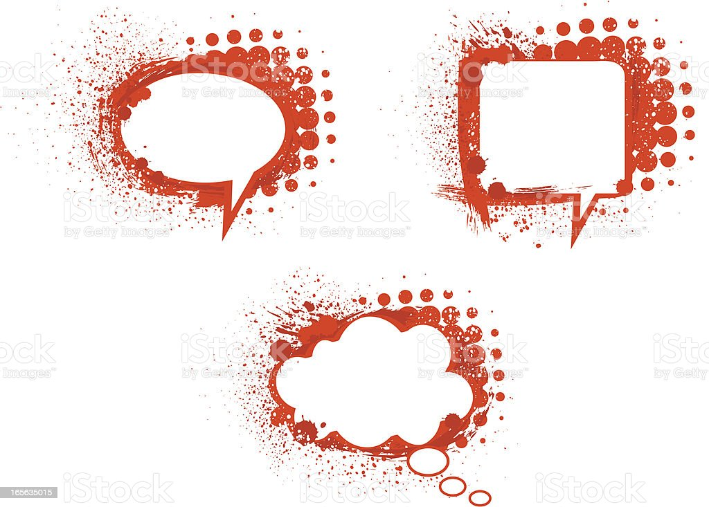 Speech bubble royalty-free speech bubble stock vector art & more images of art and craft