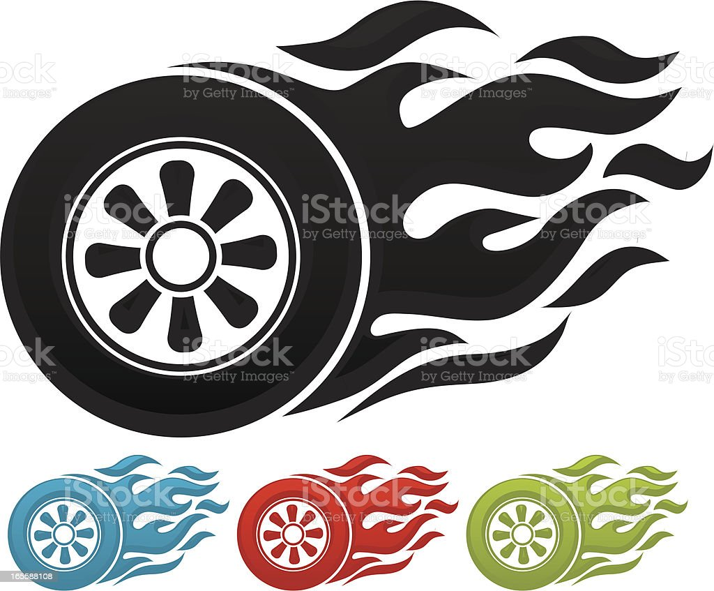 speed icon vector art illustration