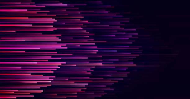 prędkość linii technologii połączenie danych abstrakcyjne tło. - futurystyczny stock illustrations